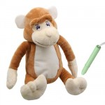 Swordfish Toys - Glow To Bed Monkey