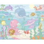Walltastic - Tapet pentru Copii Baby Under the Sea