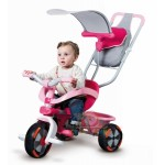 Smoby - Tricicleta 3 in 1 Baby Driver Confort Roz