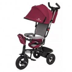 Kinderkraft - Tricicleta 6 in 1 cu scaun rotativ Swift Purple