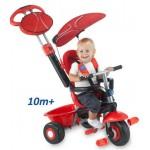 Smart Trike - 3 in 1 Smart Trike Deluxe Red