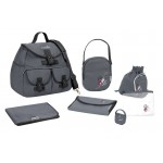 Baby Moov - Geanta multifunctionala Street Style Maternity Changing Bag Grey