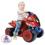 Injusa - ATV copii Wings Spiderman Sense 6V
