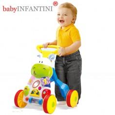 babyINFANTINI - Antepremergator Hippo cu muzica