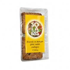 Biscuiti ecologici cu merisor fara zahar 200g Solaris