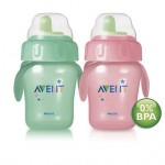PHILIPS AVENT - Cana Magic cu manere de antrenament 260 ml fara BPA