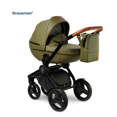 Krausman - Carucior 3 in 1 Topaz Lux Olive