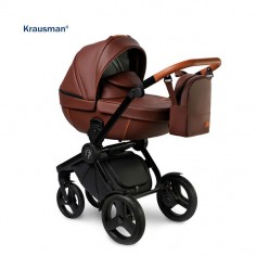 Krausman - Carucior 3 in 1 Topaz Lux Brown
