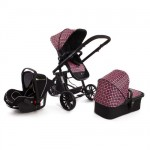 Kinderkraft - Carucior 3 in 1 Trend Purple