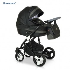 Krausman - Carucior 3 in 1 Zen Black Luxe