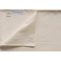 Nautralmat - Cearsaf de protectie din bumbac organic pentru saltea copii 60x120