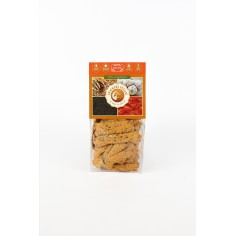 Crackers vegani cu rosii si usturoi – 125 g