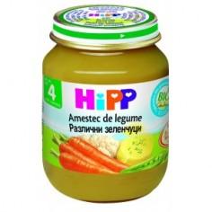 Hipp Amestec de legume, de la 4 luni, 125 gr