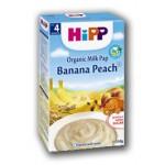 Hipp Cereale cu Banane si piersici, de la 4 luni, 250 gr