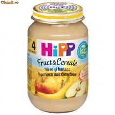 Hipp Cereale cu mere si banane, din a 6-a luna, 190 gr