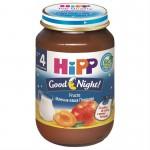 Hipp Good-Night Piure cu fructe, de la 4 luni, 190 gr