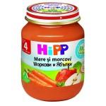 Hipp Morcovi si mere, de la 4 luni, 125 gr