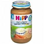 Hipp Vitel cu legume, din luna a 8-a, 220 gr