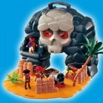 Playmobil - Pirates: Insula mobila a piratilor
