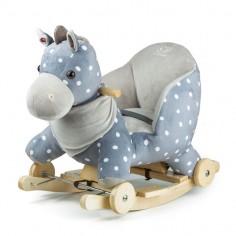 Kinderkraft - Balansoar cu roti 2 in 1 Horse Grey