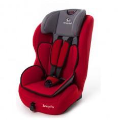 KinderKraft - Scaun auto SAFETY-FIX Red 9-36kg