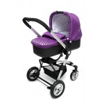 KinderKraft - Carucior 2 in 1 Kraft Purple