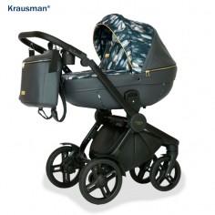 Krausman - Carucior 3 in 1 Topaz Lux Dark Gray LIMITED