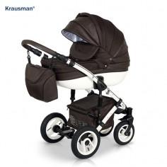 Krausman - Carucior 3 in 1 Sendo Brown