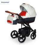 Krausman - Carucior 3 in 1 Tripp Red