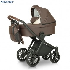 Krausman - Carucior 3 in 1 Rider Soft Brown