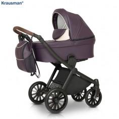 Krausman - Carucior 3 in 1 Rider Soft Purple