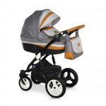 Krausman - Carucior 3 in 1 Zen Dark Grey-Brown