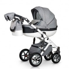 Krausman - Carucior 3 in 1 Contempo Grey