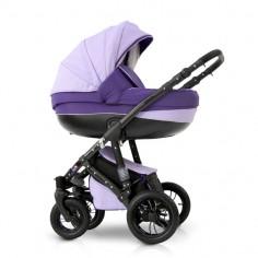 Krausman - Carucior 3 in 1 Contempo Grey-Purple