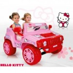 Injusa - Masinuta electrica copii Hello Kitty 12 v