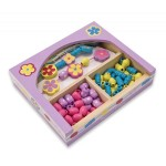 Melissa & Doug - Set de margele Flower Power