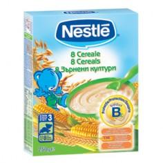Nestle 8 Cereale, 250 gr
