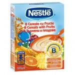 Nestle 8 Cereale Fructe, 500 gr