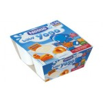 Nestle Baby Yogo cu caise, 4x100 gr - peste 6 luni