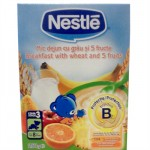 Nestle Mic dejun cu Grau si 5 Fructe, 250 gr