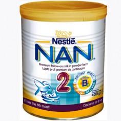 Nestle NAN 2 Formula de lapte pentru sugari - 400 g