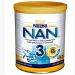 Nestle NAN 3 Lapte praf 2 x 400 g r