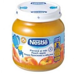 Nestle Piure Piersica si mar, 130 gr, peste 6 luni