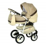 Babies - Carucior 3 in 1 Optima Beige
