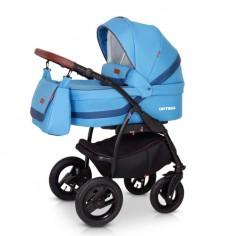 Babies - Carucior 3 in 1 Optima Blue
