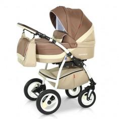 Babies - Carucior 3 in 1 Optima Brown