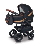 Babies - Carucior 3 in 1 Optima Dark Black Gold