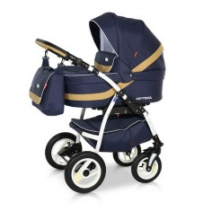 Babies - Carucior 3 in 1 Optima Dark Blue