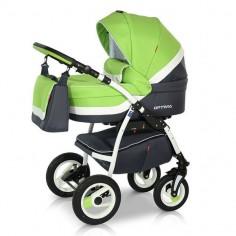 Babies - Carucior 3 in 1 Optima Green