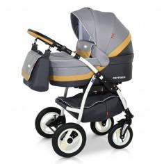 Babies - Carucior 3 in 1 Optima Grey Beige